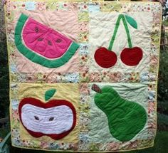 Farm Fresh Picnic #Quilt by Sara from Sew Sweetness for Cutting Corners College (@Riley Blake)