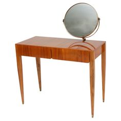Vanity Table by Gio Ponti for Giordano Chiesa