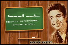 For this weeks #MondayQuiz let's see who gets it right. #HarishShetty #Green