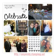 Love Story card collection by Stampin' Up! using the Project Life app for iPhone #projectlifeapp, #PLxSU, #lovestory