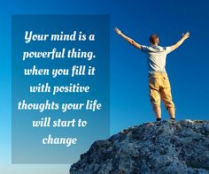 Pour only positives things in your mind & see the MAGIC!