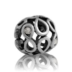 GS Lucky 8 evolve nz silver charm with Gem Stone The number 8 is considered to be very lucky, bringing us good fortune. The sparkling cubic zirconia represents our zest for life, celebrating our ingenuity, drive and spirit, which ultimately leads to our success.  With its infinite flow, this powerful charm continually inspires and energises us to achieve our goals, delivering its wearer luck and prosperity throughout life. Evolve New Zealand Silver charms are made from high quality s
