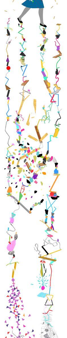 Aritst: Jon Han Title: Luck Publisher: Uppercase Magazine Medium: Digital Collage