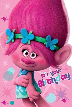 Trolls It's Your Birthday Card -- Awesome products selected by Anna Churchill