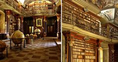 The Klementinum library, a beautiful example of Baroque architecture, was first opened in 1722 as part of the Jesuit university, and houses over 20,000 books