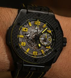 Hublot Big Bang Ferrari New Ceramic, Titanium, And Gold Watch Models For 2014 Hands On   hands on