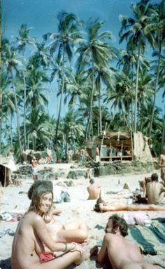 Goa was an important part of Hippy trail of India in 1960s. Got this image from internet of Hippies on Anjuna beach and their lifestyle. At present local government does not encourage nudity on beach. To know more about Goa in India, you can download Goa travel guide in PDF http://shops.bluworlds.com/downloads/goa-pocket-travel-guide/