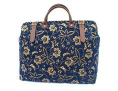 Carpet Bag Weekender / Overnight / 'Carpet' Travel