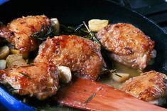 Kuře na česneku   Apetitonline.cz Menu, Chicken, Cooking, Food, Recipies, Menu Board Design, Kitchen, Essen, Meals