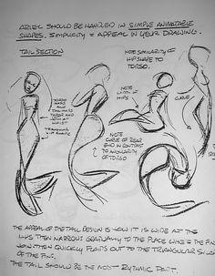 Living Lines Library: The Little Mermaid (1989) Glen Keane Ariel