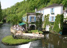 Le Moulin de l'Abbaye, Hotel et Restaurant a Brantome en Perigord (Dordogne), Site Web Officiel