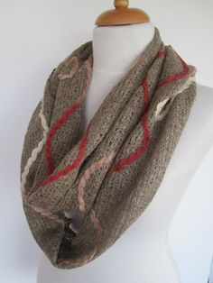 light brown cotton triangle scarf gift christmas infinity scarf headband cowl fashion pinterest triangle scarf light browns and triangles