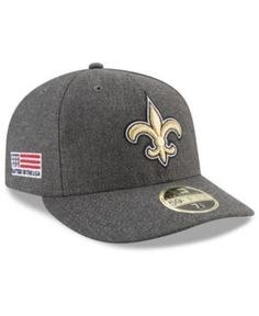 New Era New Orleans Saints Crafted In America Low Profile 59FIFTY Fitted Cap  Men - Sports Fan Shop By Lids - Macy s. Heather GrayHats OnlineNew ... c1b8252ef797