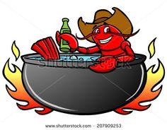 crawfish boil clip art crawfish boil clipart louisiana life rh pinterest com shrimp boil clipart Shrimp Boil Graphic