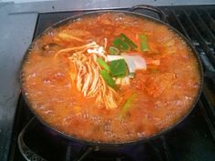 Korea food... Kimchi nabe.