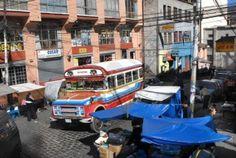 Transportation in Bolivia.