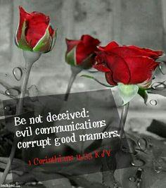 1 Corinthians 15:33 KJV