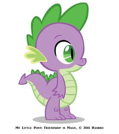 my little pony spike the dragon | My Little Pony: Friendship is Magic, © 2011 Hasbro
