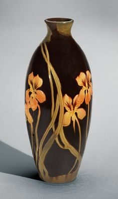 Made by Rookwood Pottery, Cincinnati, Ohio, 1880 - 1960. Decorated by John Hamilton Delaney Wareham, American, 1871 - 1954, active at Rookwo...
