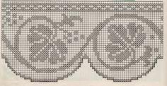 Risultati immagini per schema bordure uncinetto