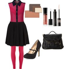 """""""Pretty in Pink"""" by lizzeblagg on Polyvore http://www.marykay.com/lisabarber68 Call or text 386-303-2400"""