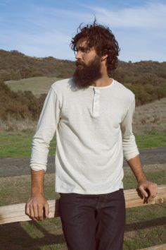 Hemp Henley. Eco-Friendly, Durable, and Timeless.