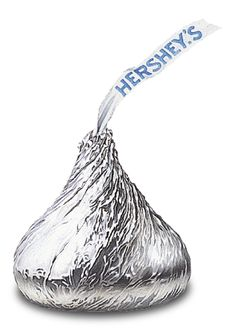 There's not much better than a Hershey's Kiss (or a Silver Bell, as I called them when I was a child) for a little taste of chocolate. My favorite way to eat them is to lick the bottoms of two and stick them together, then plop them in my mouth. A double taste of chocolate! Yummy!