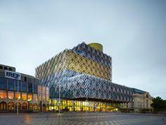 mecanoo architects unveil filigreed birmingham library