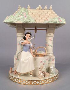 Lenox - Snow White Some Day My Prince Will Come Figurine Walt Disney LE 200/1937