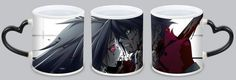 Personalized Tokyo Ghoul magic mug, anime, blood, murder, boy, girl. Customized ceramic animation cups. It is a magic cup to join the hot water will appear this pattern.