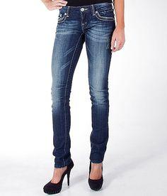 Miss Me Leather Skinny Stretch Jean