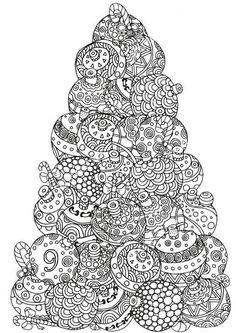 Adult Christmas Coloring Sheets New 5 Absolutely Free Beautiful Christmas Colouring Pages Christmas Present Coloring Pages, Christmas Ornament Coloring Page, Christmas Coloring Sheets, Printable Christmas Coloring Pages, Christmas Tree Drawing, Christmas Tree Pattern, Colorful Christmas Tree, Christmas Colors, Beautiful Christmas