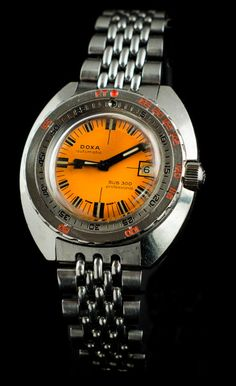 So many cool 70's watches Vintage Doxa Diver's Watch