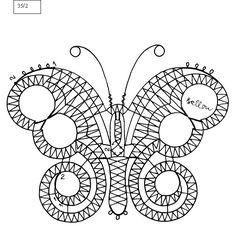 Geklöppelte frühlingsmotive - Brigitte Bellon - Maria del Carmen - Picasa Web Album Album, Mariposa Butterfly, Bobbin Lace Patterns, Needle Lace, Lace Design, String Art, Free Pattern, Symbols, Letters
