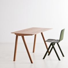 The Copenhague Desk was designed in the year 2013 by the brothers Erwan & Ronan Bouroullec for HAY. The Copenhague Desk is part of the Copenhague c Contemporary Home Office Furniture, Contemporary Desk, Scandinavia Design, Home Living, Living Room, Stores, Furniture Design, Home Decor, Nest