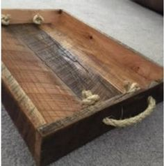Items similar to Reclaimed Barn Wood Serving Tray on Etsy Barn Wood Projects, Small Wood Projects, Woodworking Projects Diy, Reclaimed Barn Wood, Recycled Wood, Horse Mounting Block, Palette Furniture, Serving Tray Wood, Wooden Crafts