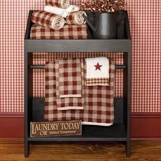 The Country House Online Store - Black Washstand. I need this for our bathroom!  Would need a longer one though.