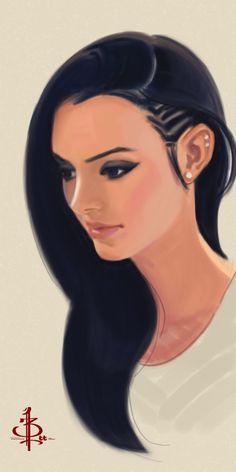 Timed Head Sketch 483 by FUNKYMONKEY1945.deviantart.com on @deviantART