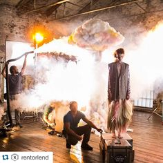 iso1200magazine#Repost @rentorlend ・・・ Amazing BTS shot ❤️ from a sweet…