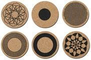 Cork coasters for BoConcept