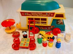 Fisher Price Little People Play Family Camper 994