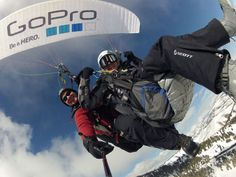 From Joshua O'Reilly's 2013 Baptism Board:  I love GoPro! They advertise the experience so effectively by simply using their product to capture it. I am going to go skydiving soon and use one :)
