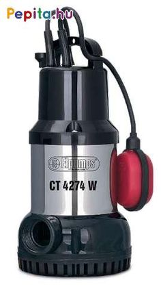 **Elpumps CT 4274W**     Elpumps által kínált CT4274W műanyag-inox típusú merülőszivattyúk széles vásárlói igények kielégítésére szolgálnak.     Felhasználási területei:  1. Beázásoknál, vagy a feltörő talajvíz által elöntött aknák kiszivattyúzására.  2. Egyéb helyiségek, gödrök, pincék víztelenítésére.  3. Kertek árasztásos öntözésére.    Maximális szivattyúzható szemcseátmérő 5mm.    Felépítés:  A szivattyú motorjának háza és tengelye a korróziónak jól ellenálló saválló acélból készül. A… Binoculars, Modern
