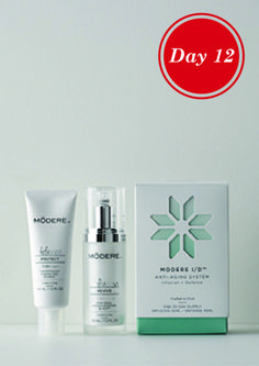 WOW LADIES this is an AMAZING product is The MODERE I/D system brings an exclusive combination of botanical infusion and environmental skin defense. modere.com refCode 330786