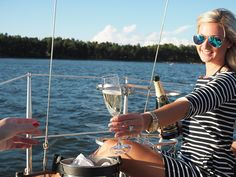 Teljänneito Citylife Blog: Sailing boat party