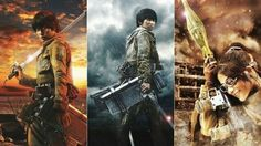 Attack on Titan live action movie in production!