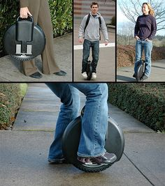 Solowheel: The creative Self-Balancing Unicycle