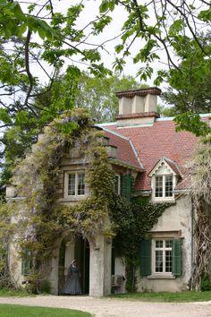 Visit Sunnyside, the charming riverside home of American author Washington Irving. More info: www.hudsonvalley.org/historic-sites/washington-irvings-sunnyside