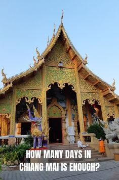 Planning to visit Chiang Mai in Thailand, but unsure how long to stay there? This guide to how many days in Chiang Mai will help you decide. Thailand Adventure, Thailand Travel, Asia Travel, Croatia Travel, Hawaii Travel, Solo Travel, Italy Travel, Adventure Travel, Travel With Kids