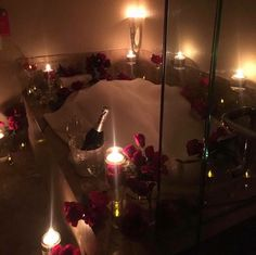 """""""I would cry if I walked into this"""" Romantic Room Surprise, Romantic Bath, Romantic Night, Romantic Ideas, Romantic Hotel Rooms, Romantic Homes, Romantic Dinners, Romantic Home Dates, Romantic Places"""